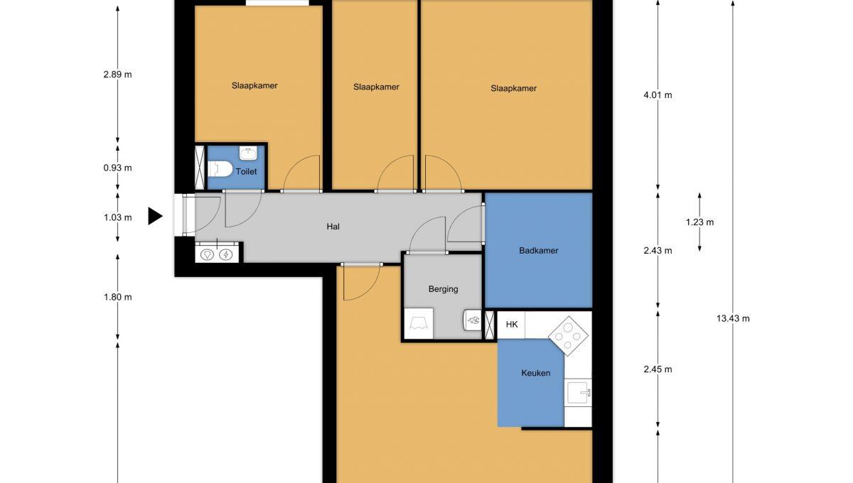 Weerdingerstraat 249_plattegrond